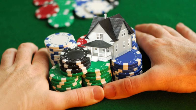 Home Poker Game and chips