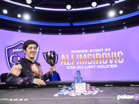 Ali Imsirovic wins the fourth event of the 2021 PokerGO Cup