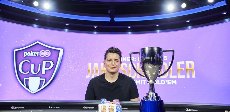 Jake Schindler wins the fifth event of the 2021 PokerGO Cup